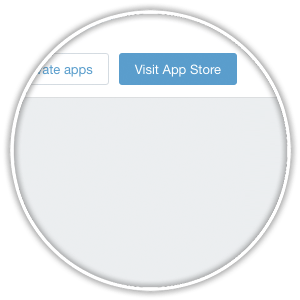 shopify visit app store