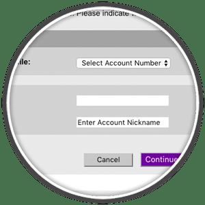 fedex enroll online billing account number request